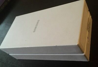 SAMSUNG SM-G920I BOX + Start Guide & Warranty Card PHONE NOT INCLUDED Box Only