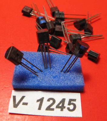 5x BF245 B, Texas Instruments, Ti, JFET N-Channel Transistor, TO92 / #1245