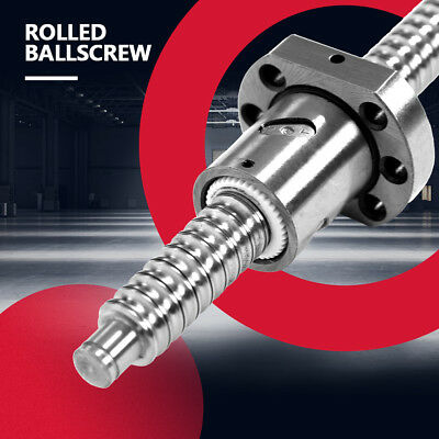 SFU1605 750mm Rolled Ballscrew Ballnut Anti-Backlash without Side End Supports