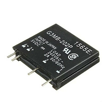 1 Pcs G3MB-202P Solid State Relay Module Input 5V DC Output 240V AC 2A SSR FBB