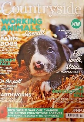 COUNTRYSIDE Magazine = NOV 2018 = WORKING ANIMALS SPECIAL = FARM DOGS = BEES