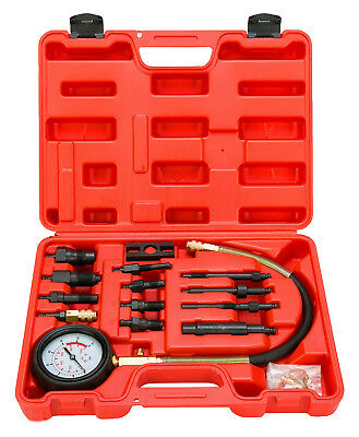 Diesel Engine Compression Tester Test Set Kit For Auto Tractor Semi 0-1000PSI