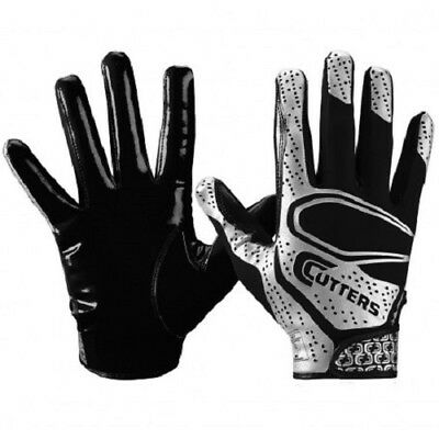 Cutters S251 Rev Receiver Gloves Black medium