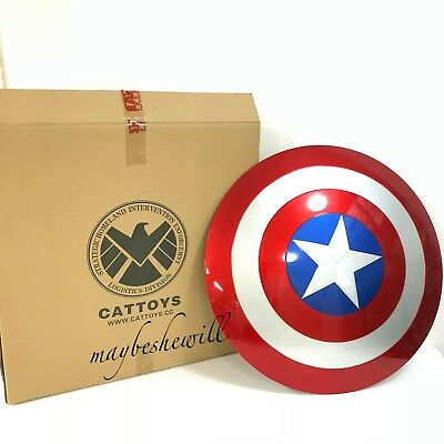 "Cattoys 1:1 Avengers end Captain America ABS Shield 22"" COSPLAY COLLECTIBLE GIFT"