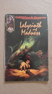 Advanced Dungeons & Dragons AD&D Labyrinth of Madness US Comic