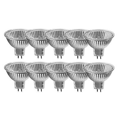 10er Set Halogen-Reflektor Lampe 50 W GU5,3 MR16 warmweiss Müller Licht 12290