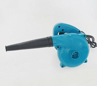 Electric Mini Portable Leaf Blower Small Handheld Air Workshop Blow PC Wood Dust