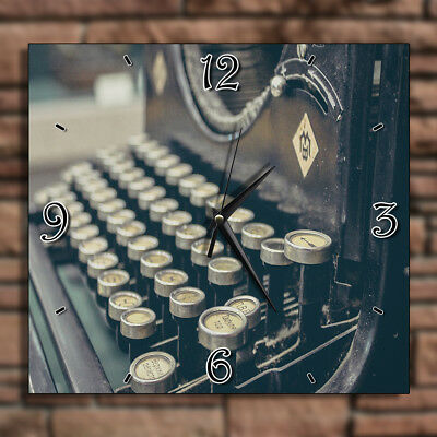 Vintage Typing Machine - Home Deco Decor Kitchen Living Room Wall Clock