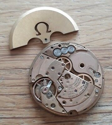 Watch Movement OMEGA Cal. 1001 Incomplete For Parts