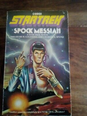 Star Trek Corgi Book. Spock Messiah
