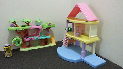 Fisher Price Dollhouse AND Pet Shop Play set