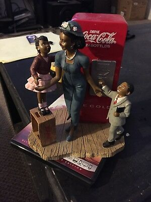 "Very Rare Coca Cola Ebon Memories ""A Sunday Treat"" Issue 2000 Figurine"