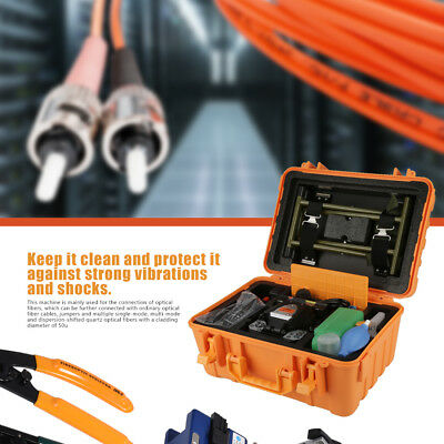 Fiber Optic Splicing Machine Optical Fiber Fusion Splicer 100-240V 50/60HZ A-80S