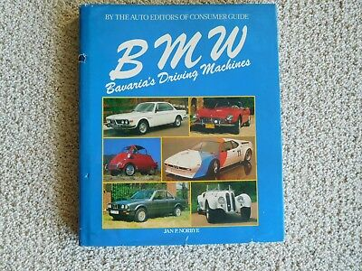 BMW Bavaria's Driving Machines, Jan Norbye, 1984, HB With DJ