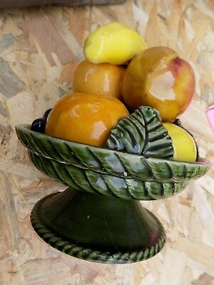 Barbotine   Coupe A Fruits   Centre  De  Table