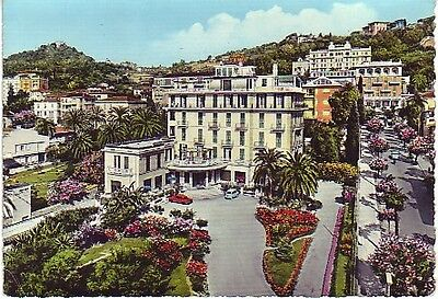 Italy - Coast of Flowers, Hotel (Post Card) 1950's