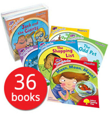 Oxford Reading Tree Songbirds Collection 36 Phonics Book Set