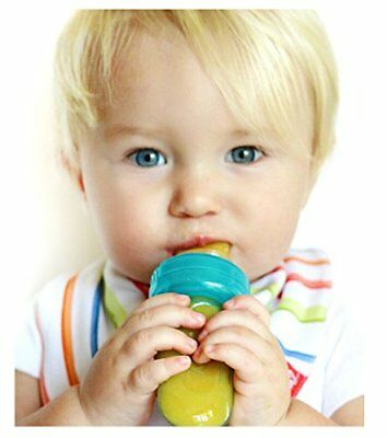 Silicone Self Feeding Baby Food Dispenser Kid Baby Infant Toddler Feeder Pouch