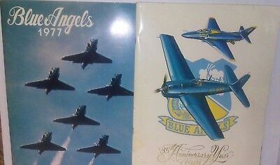 1977 & 1981  Blue Angel Airshow Programs