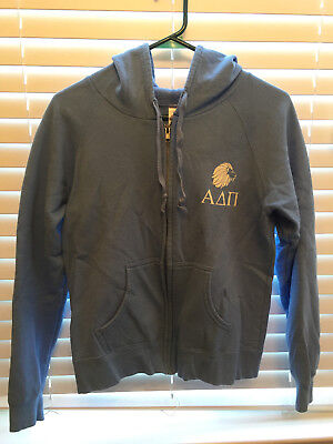 Alpha Delta Pi Zipped Hoodie (Free Shipping)