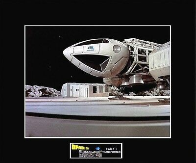 "SPACE 1999 Eagle 1 Launch Pad Close-up 8"" x 10"" Photo -11"" x 14"" Black Matted"