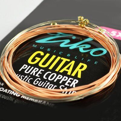 ZIKO DR 010-012 Acoustic Guitar Strings Membrane Guitar Parts Copper Strings GA