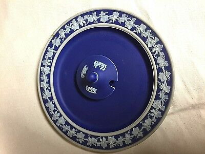 Antique Wedgwood Saucer (Plate) And Lid