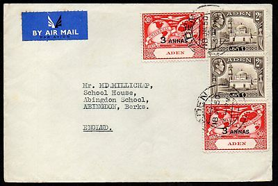 Aden - 1950 Airmail Cover to England