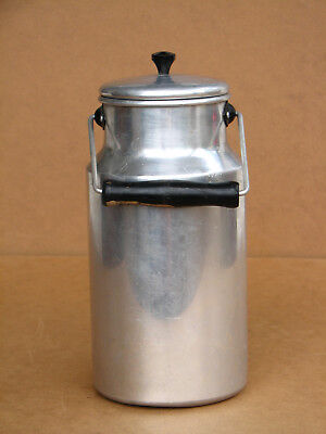 Antique Vintage Milk Churn French Style Garden Planter 2L Aluminum East Europe