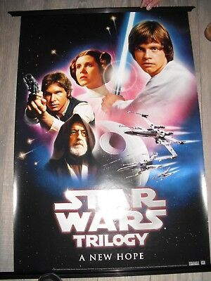 Star Wars Trilogy 2004 Lot of 3 posters