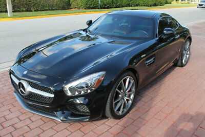 2017 Mercedes-Benz AMG GT S COUPE NAV BACKUP CAM 19/20 AMG WHEELS!!!! LANE TRACKING, EXCLUSIVE INTERIOR PKG, SILVER CHROME STYLING, BLIND SPOT ASSIST!