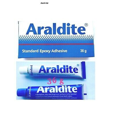 36g x Araldite Standard Epoxy Glue 2 Part With Resin & Hardener cheapest