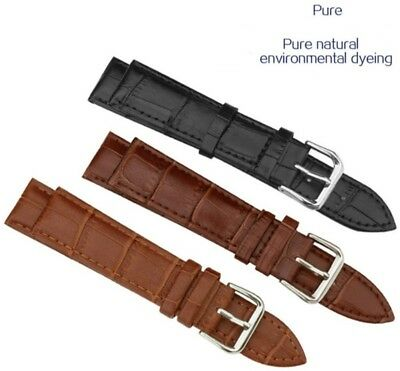 3 X WHOLESALE JOB LOT OF GENUINE LEATHER WATCH STRAP 16mm vintage watch
