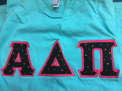 Alpha Delta Pi Letter Shirt-Size Small (Free Shipping)
