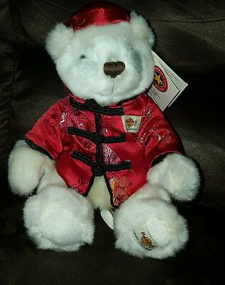 2002 Hard Rock Cafe Chinese bear Limited numbered edition San Francisco