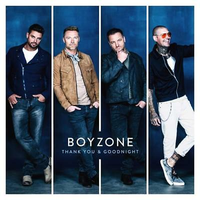 Boyzone - Thank You & Goodnight - New CD Album 2018 AS SEEN ON TV Ronan Keating