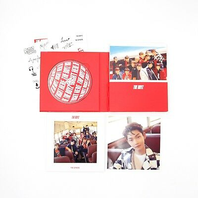 [THE BOYZ]1st Single Album/The Sphere/Real version-KEVIN Image/No photocard