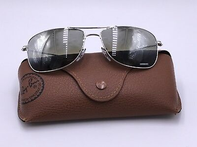 2938dc67b0c Ray Ban RB3543 003 5J Polarized Silver Mirror Chromance  Silver AUTHENTIC  Italy