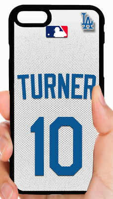 JUSTIN TURNER LA DODGERS MLB PHONE CASE FOR iPHONE XS MAX X 8 7 6S PLUS