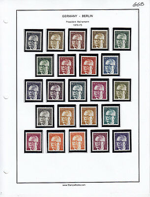 GERMANY Berlin MINT   From Collection Lot #G68