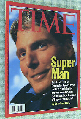 TIME Magazine August 26 1996 ~ CHRISTOPHER REEVE