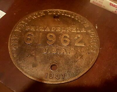 Southern Pacific Railroad Steam Locomotive Builders Plate. Cab-Forward 2-8-8-4!