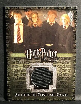 Harry Potter OOTP Costume Card Ron Weasley C10 #228 Grint Phoenix Artbox