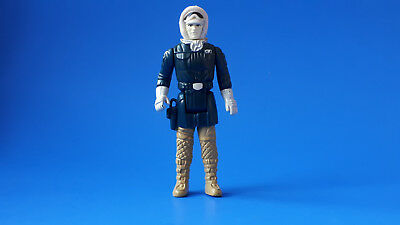 Poch STAR WARS VINTAGE HAN SOLO HOTH OUTFIT  EURO 1980 PALE FACE PBP / Nice!