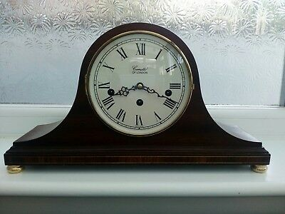 Comitti of London Regency Napoleon Westminster Chime Clock