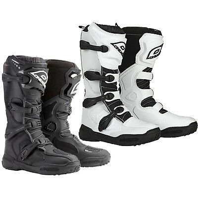 O'Neal Men's Element Offroad MX ATV Dirt Boots Black or White BRAND NEW IN BOX