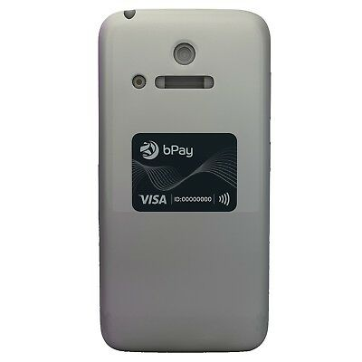 bPay contactless payment device,charcoal sticker