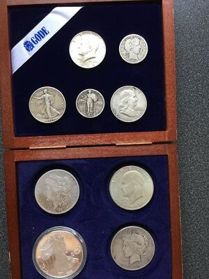USA DOLLARs AND CENTS Silber Silver Coin