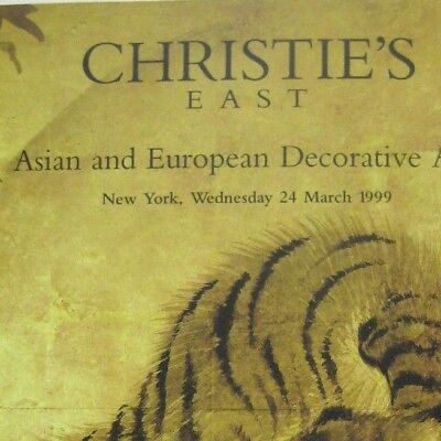 Christies Auction Catalog 1999 New York 8217 Asian European Decorative Arts 39 99 Picclick