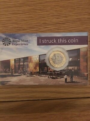 Strike Your Own New Pound Coin £1
